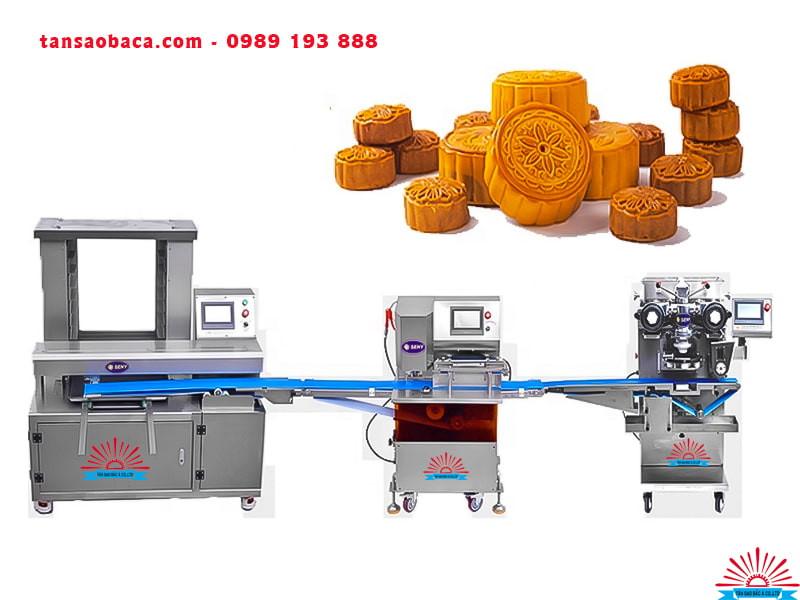 Dây chuyền sản xuất bánh trung thu