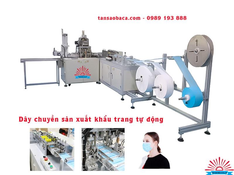 Dây chuyền sản xuất khẩu trang