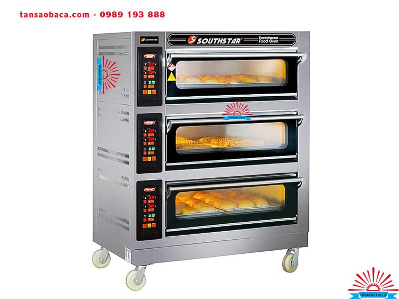 Lò nướng bánh mì 3 tầng